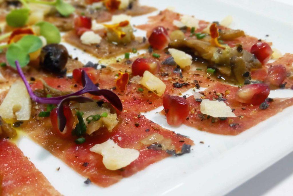 Sashimi fino de atún - Restaurante Balandro