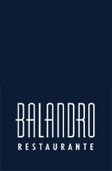 Logotipo Restaurante Balandro alto en negro