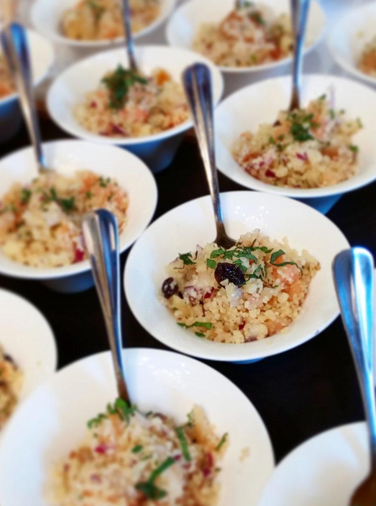 Couscous con ahumados y frutos secos - Restaurante Balandro