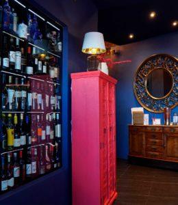 Mueble botellero de Restaurante Balandro