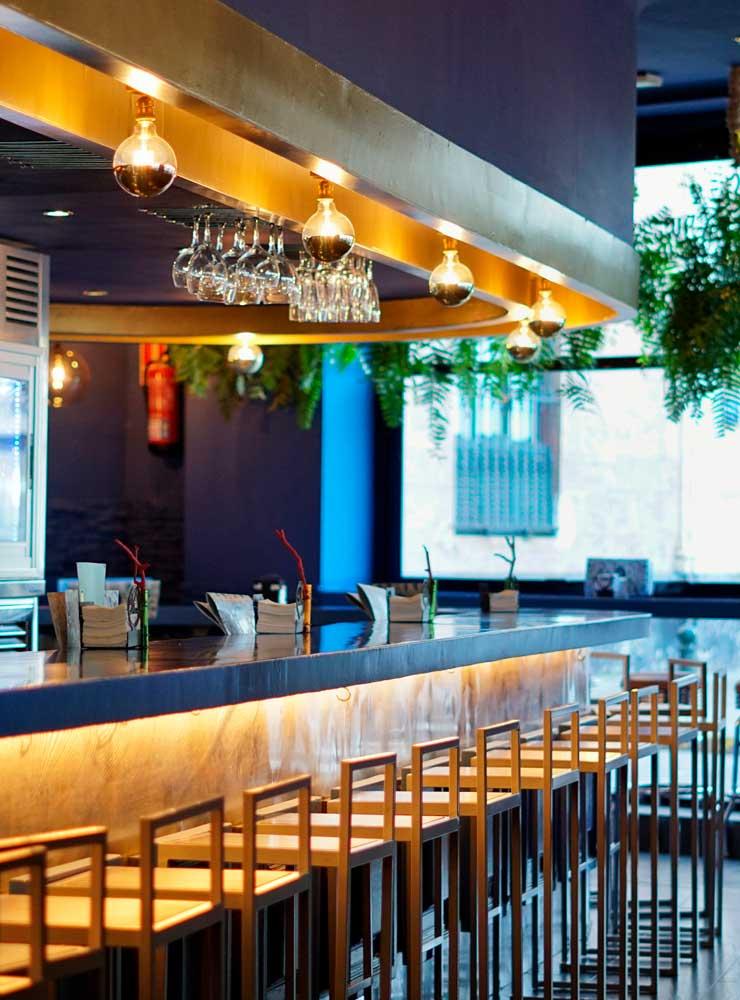 Barra principal - Restaurante Balandro
