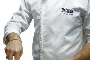 Casaca del Chef del Restaurante Balandro