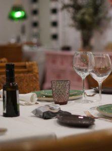Detalle de mesa - Restaurante Balandro