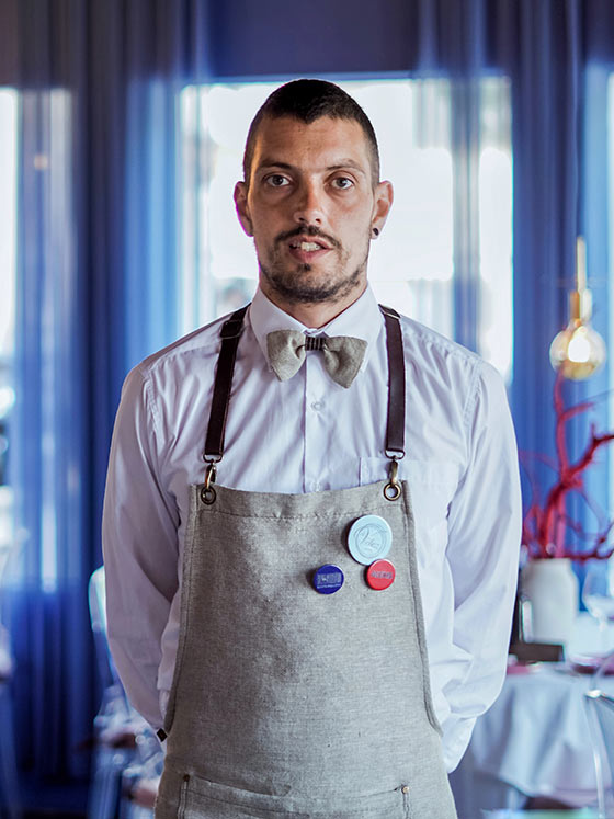 Alexis - Camarero de barra de Restaurante Balandro